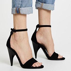 Kendall + Kylie Emilee Suede High-Heel Ankle Strap